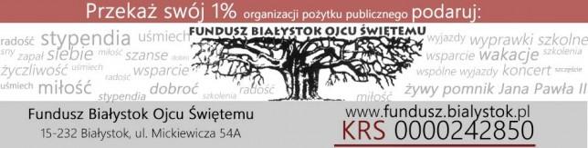 logo przekaż 1% podatku
